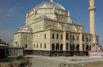 камень искусственный на мечети