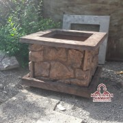 бетонный вазон в бишкеке